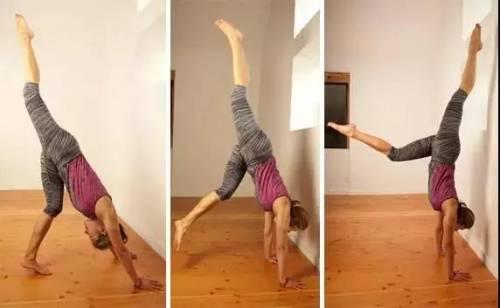 可以锻炼全身的倒立动作,如何学会?
