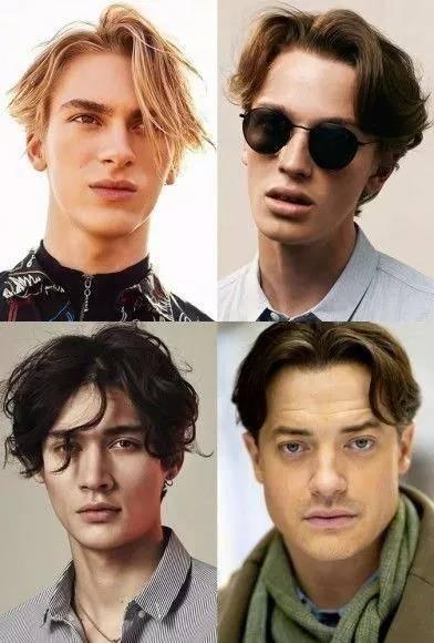 记得70,80年代的港产片里面的男生都是中分的发型,爱追港风的小编最图片