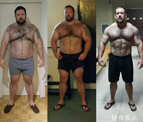 320斤身材型a身材人士刷脂后,早餐有多肌肉?看看他就奶v身材喝什么健美图片