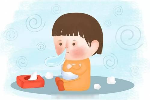 打喷嚏流鼻涕_普通感冒是常见的急性上呼吸道感染,得了感冒会出现打喷嚏,流鼻涕