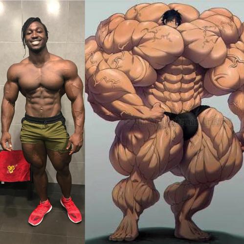 欧美兽片_非洲肌肉兽碾压欧美肌肉霸,这位小哥的蜕变让人太涨志气!