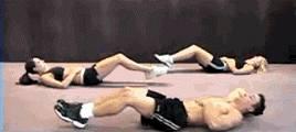 想要练出倒三角和人鱼线,只需这三组动作!